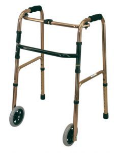 Deluxe with Front Wheels Walking Frame