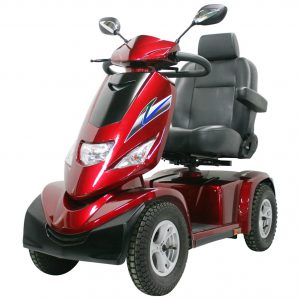 Commander 928 Scooter in red